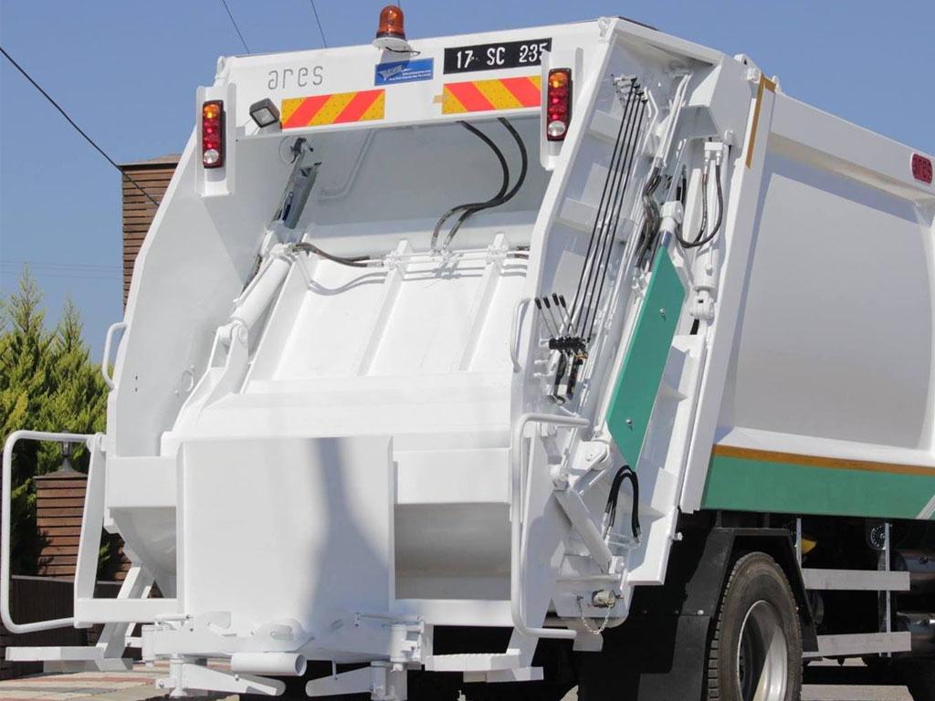 Çöp Atık Toplama Ekipmanları